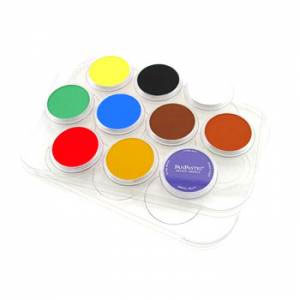 Panpastel 10-Color Palette Tray w/ Cover