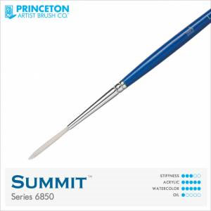 Princeton Summit Series 6850 Synthetic Watercolor Brush - Liner 1