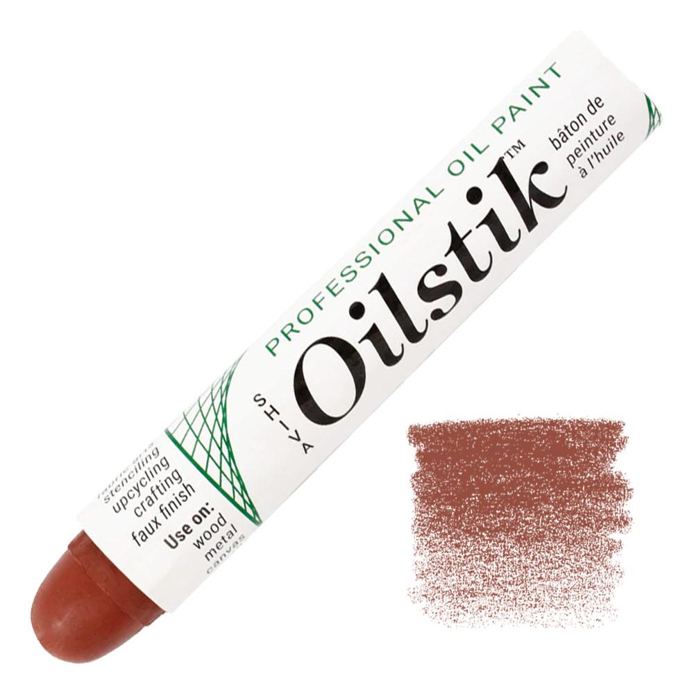 Shiva Paintstik Oil Color - Barn Red