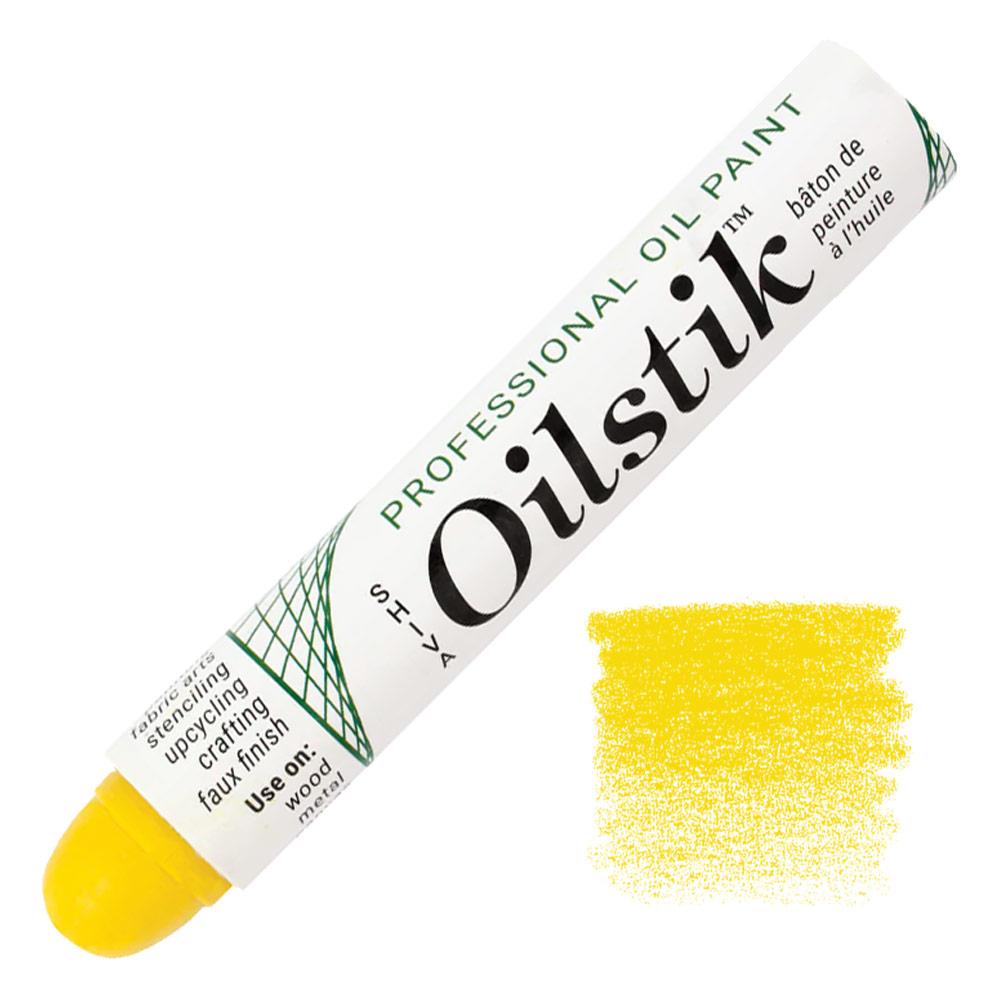 Shiva Paintstik Oil Color - Yellow Citron