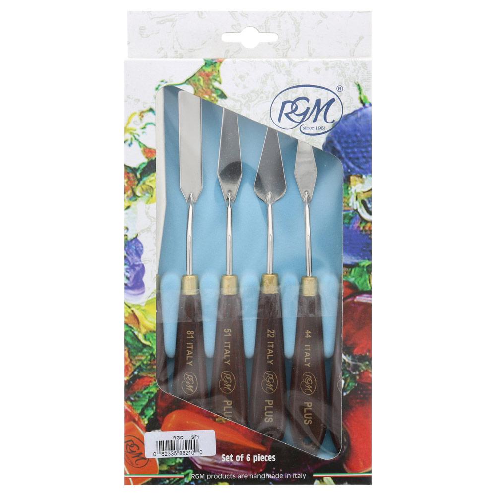 RGM Italian Plus Paint Knife 6pc Set