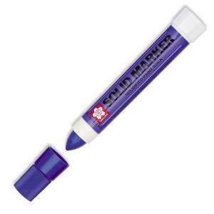 Solid Marker, Solidified Paint Stick - Purple