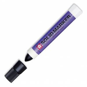 Solid Marker, Solidified Paitn Stick - Black
