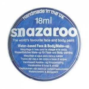 Snazaroo Classic Face Paint Colors 18ml - Sky Blue