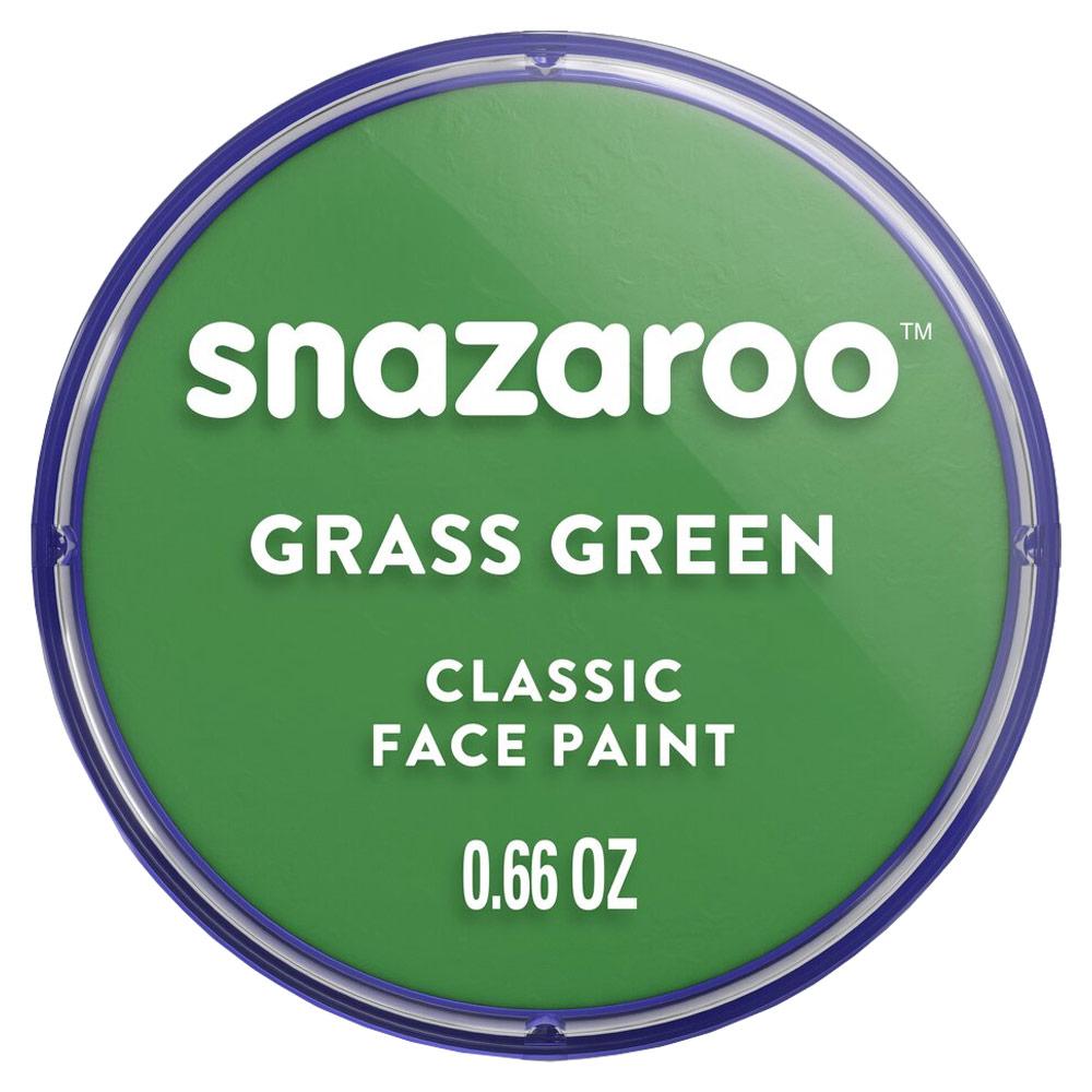 Snazaroo Classic Face Paint Colors 18ml - Grass Green