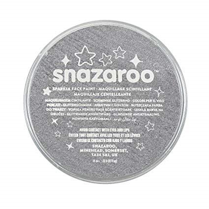 Snazaroo Face Paint 18ml - Metal Grey