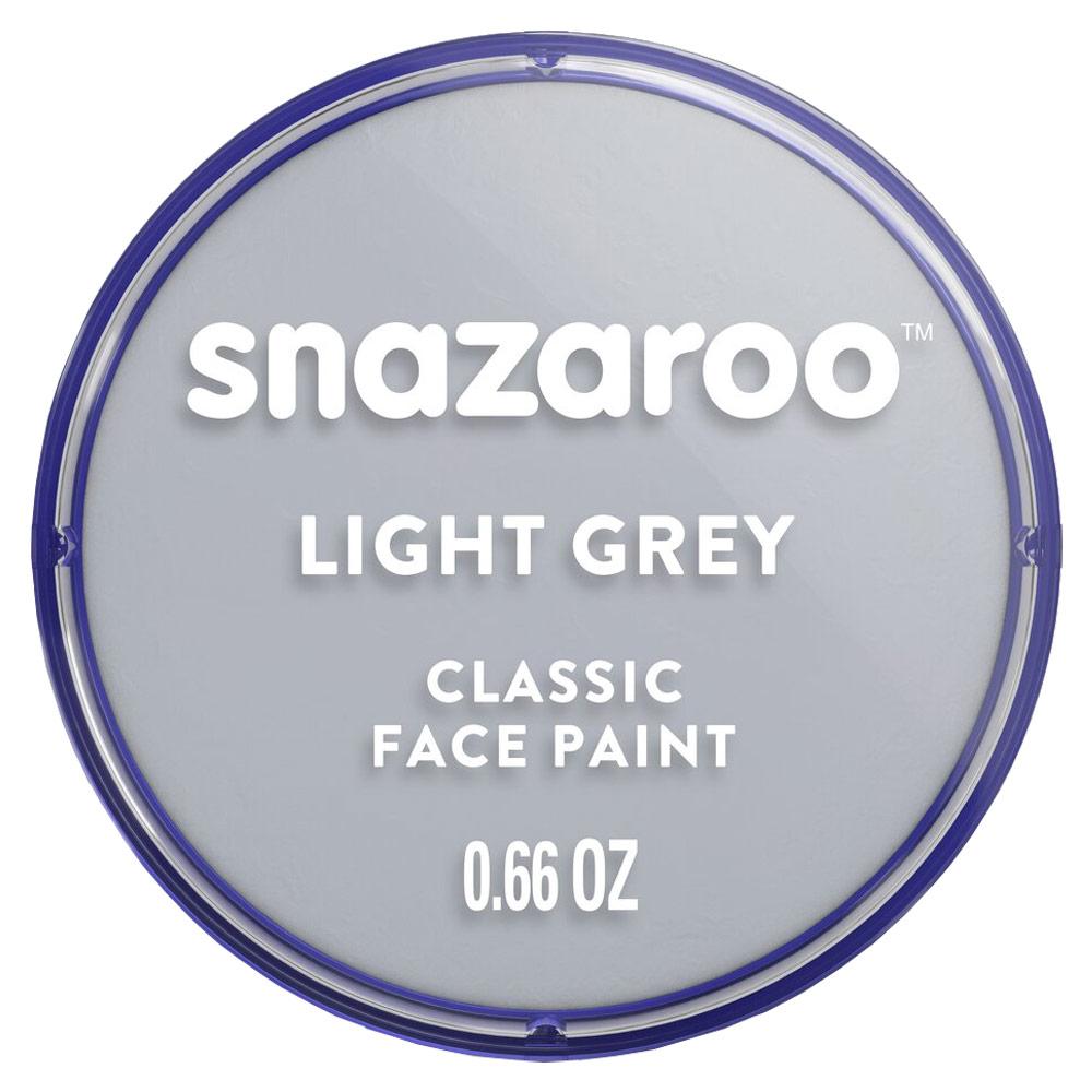 Snazaroo Classic Face Paint Colors 18ml - Light Grey