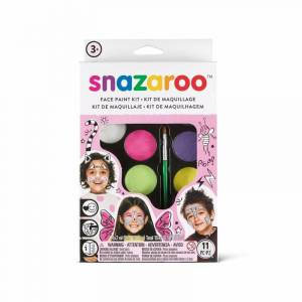 Snazaroo Face Painting Fantasy Girls Kit
