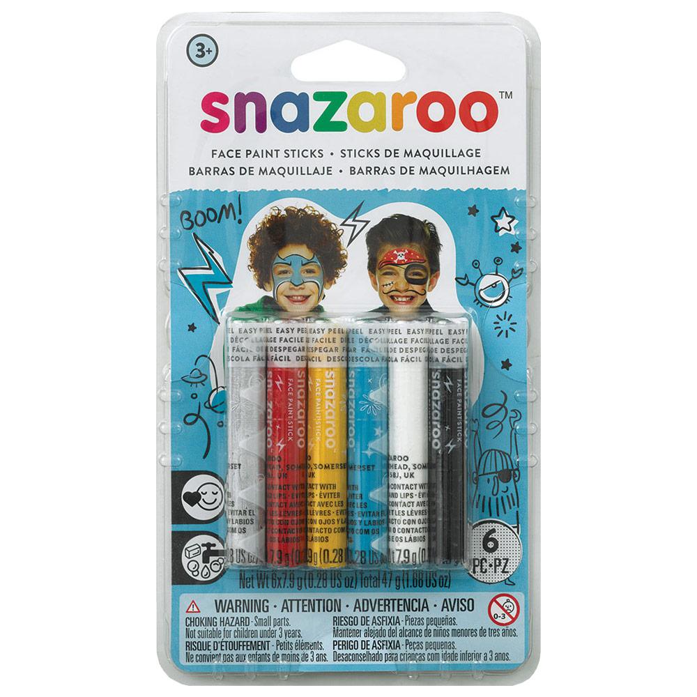 Face Paint Stick 6 Set Boys