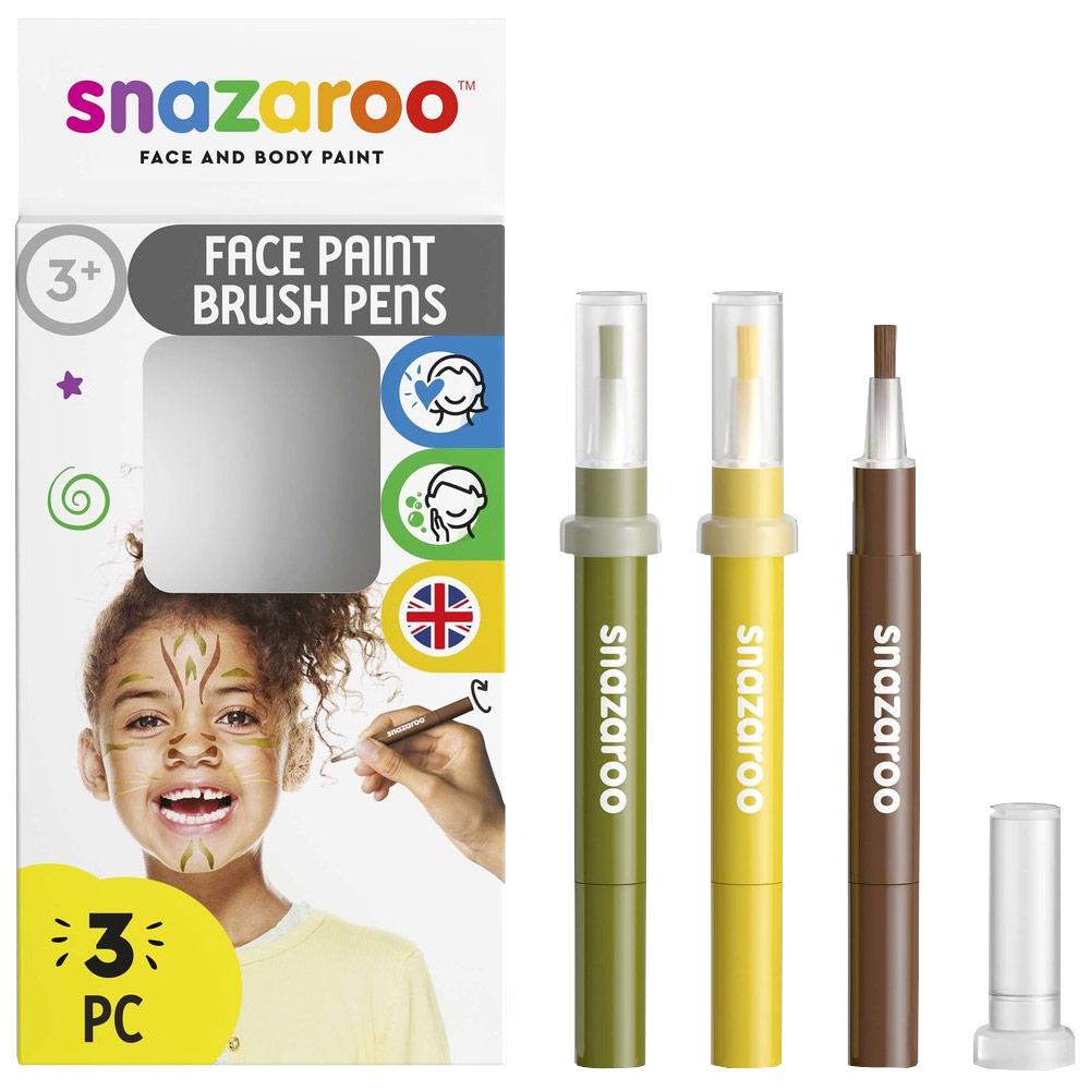Face Paint Brush Pen Jungle