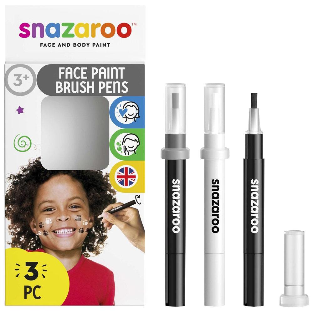 Face Paint Brush Pen Monochrome