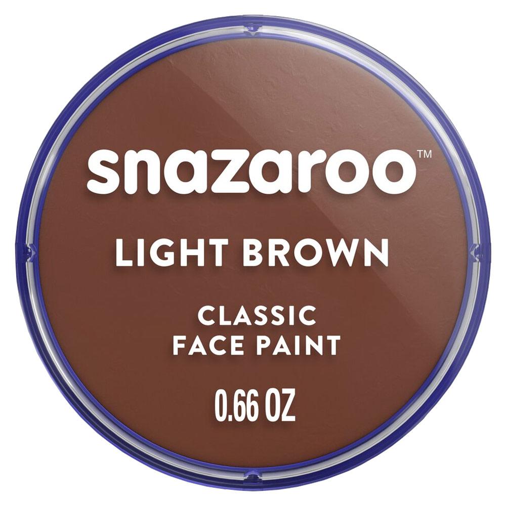 Snazaroo Classic Face Paint Colors 18ml - Light Brown