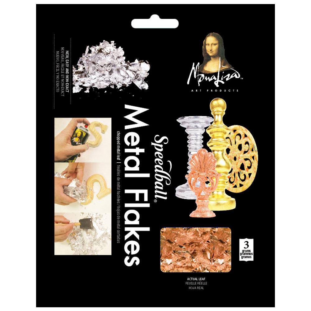 Mona Lisa Metal Flakes 3g - Copper