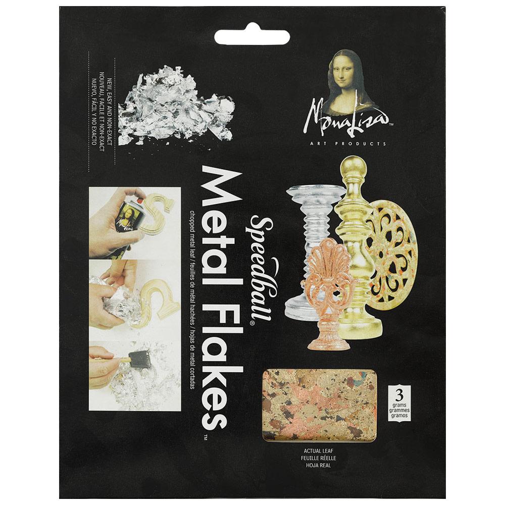 Mona Lisa Metal Flakes 3g - Variegated