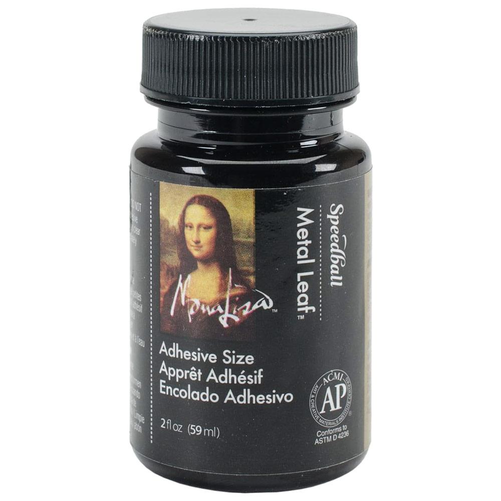 Speedball Mona Lisa Gold Metal Leaf Adhesive - 2oz