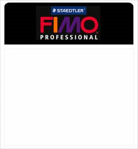 Fimo Professional Modeling Clay 2oz - White