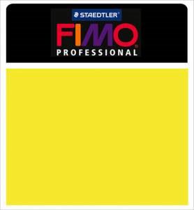 Fimo Professional Modeling Clay 2oz - Lemon Yellow