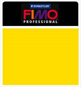 Fimo Professional Modeling Clay 2oz - Yellow
