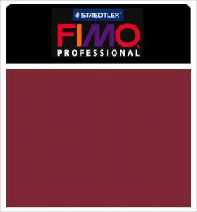 Fimo Professional Modeling Clay 2oz - Bordeaux