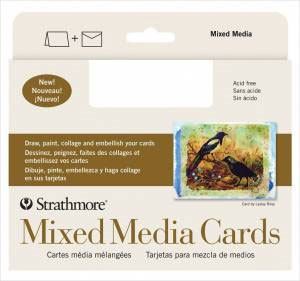 Mixed Media Cards - 5x7, Pack of 10