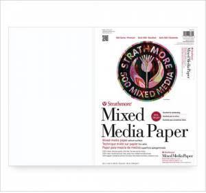 "Strathmore 500 Series Mix Media Sheet - 22""x30"" Vellum"