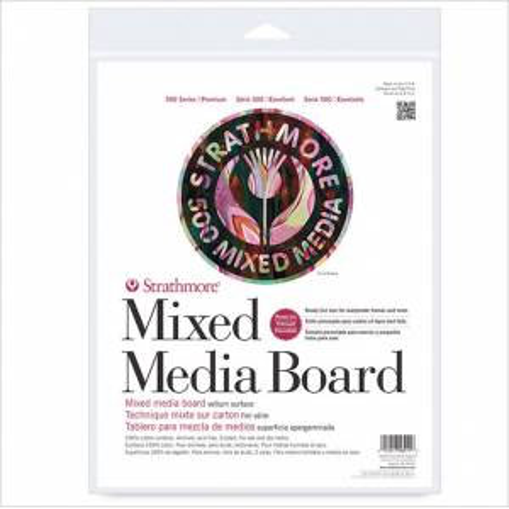 "Strathmore 500 Series Mix Media Board - 16""x20"" Vellum (2-Pack)"