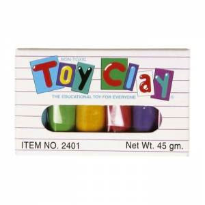 Toysmith Mini Toy Clay 6-Color Set
