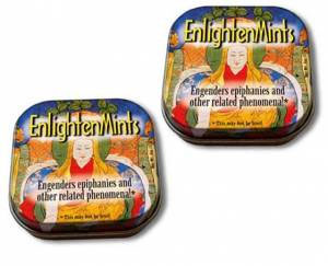 Buddha Peppermint Enlightenmints with Reusable Tin