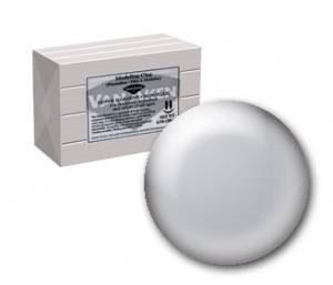 Van Aken Plastalina Clay 1Lb - Silver Gray