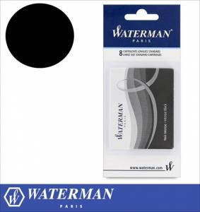 WATERMAN PEN CRTRDGS BLACK