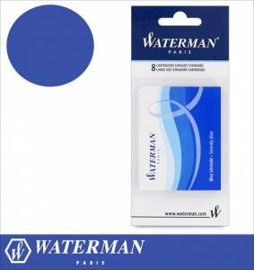 WATERMAN PEN CRTRDGES SEREN BLUE
