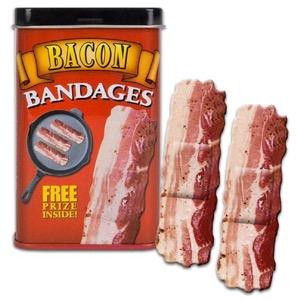 Bacon Strips Adhesive Bandages