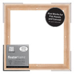 """Floater Frame Thin 7/8"""" 12x12 Maple"""