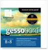 "Gessobord Cradled Panel 1.5"" - 8x8"