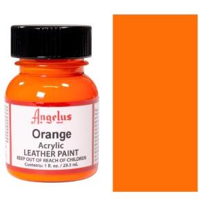 Angelus Leather Acrylic Paint 1 oz. - Orange
