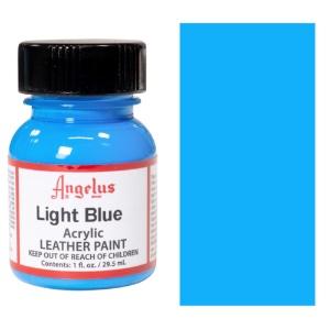 Angelus Leather Acrylic Paint 1 oz. - Light Blue