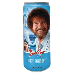 Bob Ross Positive Energy Drink 12oz