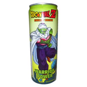 Dragon Ball Z Warrior Power Energy Drink 12oz