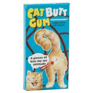 Blue Q Gum - Cat Butt