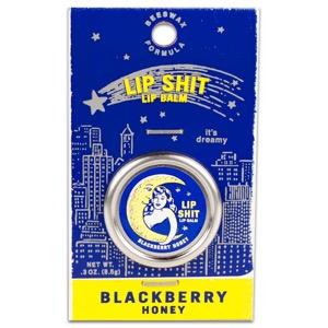 Blue Q Lip Shit Lip Balm - Blackberry Honey