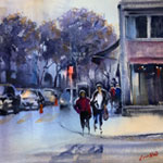 In The Studio: Urban Landscapes in Watercolor with Louisa McHugh 9/30