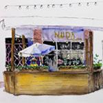 In the Studio: Urban Sketching with Louisa McHugh 10/7 - 10/28