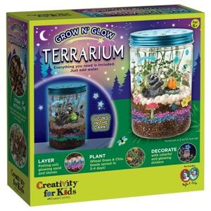 Creativity For Kids Kit: Grow 'N Glow Terrarium