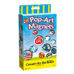 Creativity For Kids Kit: Pop-Art Glass Magnets