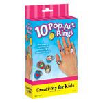Creativity For Kids Kit: Ten Pop Art Rings
