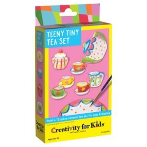 Creativity For Kids Kit: Teeny Tiny Tea Set