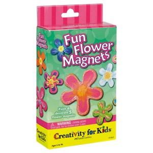 Creativity For Kids Kit: Fun Flower Magnets