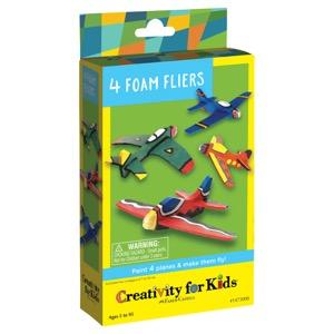 Creativity For Kids Kit: 4 Foam Fliers