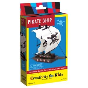 Creativity For Kids Kit: Pirate Ship
