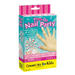 Creativity For Kids Kit: Press-On Nail Party
